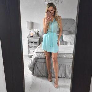 Aritzia Benedict Silk Georgette Sleeveless Dress